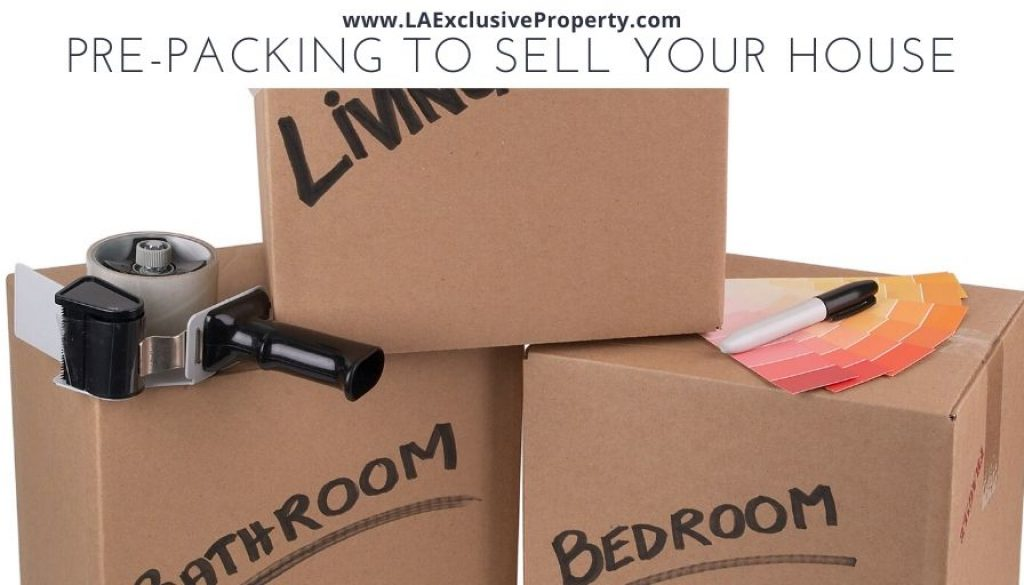 Pre-Packing to Sell Your House